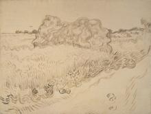 van Gogh, Covoni di fieno | Meules de foin | Hayricks