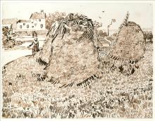 van Gogh, Covoni di fieno | Meules de foin | Haystacks
