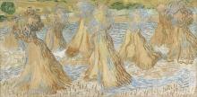 van Gogh, Covoni di grano | Gerbes de blé | Sheaves of wheat