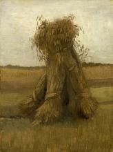 van Gogh, Covoni di grano | Korenschoven | Gerbes de blé | Sheaves of wheat