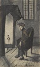 van Gogh, Davanti al focolare | Devant les tisons | In front of the embers