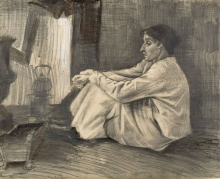 van Gogh, Donna (Sien) seduta vicino alla stufa.jpg
