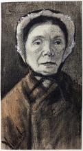 van Gogh, Donna con il cappello.jpg