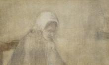 van Gogh, Donna di Scheveningen [verso]   Femme de Scheveningen [verso]   Woman from Scheveningen [verso]