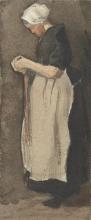 van Gogh, Donna di Scheveningen | Scheveningse vrouw | Femme de Scheveningen | Woman from Scheveningen