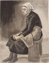 van Gogh, Donna seduta | Zittende vrouw | Femme assise | Woman seated