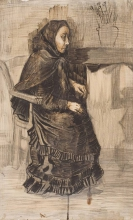 van Gogh, Donna seduta   Zittende vrouw   Femme assise   Woman seated