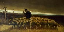 van Gogh, Dopo la tempesta (Pastore con un gregge di pecore) | Después de la tormenta | Après la tempête | After the storm