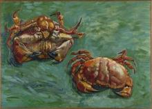 van Gogh, Due granchi | Deux crabes | Two crabs