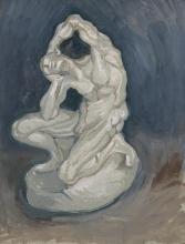 van Gogh, Ecorché in ginocchio | Geknielde spierman | Ecorché à genoux | Kneeling ecorché
