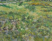 van Gogh, Erba alta con farfalle   Herbe haute aux papillons   Long grass with butterflies