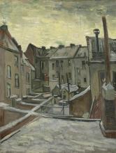 van Gogh, Facciate posteriori di case | Achterkanten van huizen | Côtés arrière des maisons | Houses seen from the back