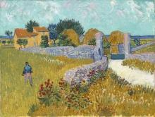 van Gogh, Fattoria in Provenza | Ferme en Provence | Farmhouse in Provence