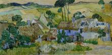 van Gogh, Fattorie vicino Auvers | Fermes près d'Auvers | Farms near Auvers