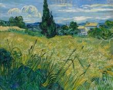 Vincent van Gogh, Grano verde | Blé vert | Green wheat