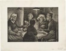 van Gogh, I mangiatori di patate   De aardappeleters   Les mangeurs de pommes de terre   The potato eaters