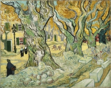 van Gogh, I pavimentatori stradali | Les paveurs | The road menders