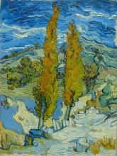 van Gogh, I pioppi a Saint Rémy   Les peupliers à Saint-Rémy   Poplars at Saint-Rémy