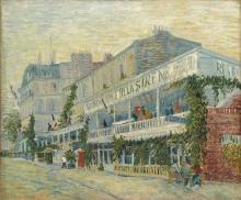 van Gogh, Il Restaurant de la Sirène ad Asnières   Le Restaurant de la Sirène à Asnières   The Restaurant de la Sirène at Asnières