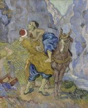 van Gogh, Il buon samaritano (da Delacroix) | De barmhartige Samaritaan (naar Delacroix) | Le bon Samaritain (d'après Delacroix) | The good Samaritan (after Delacroix)