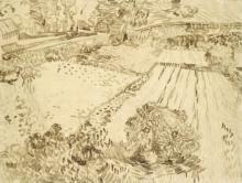 van Gogh, Il campo di papaveri   Le champ de coquelicots   The field of poppies