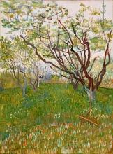 van Gogh, Il frutteto in fiore   Le verger en fleurs   The flowering orchard