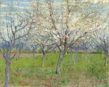 van Gogh, Il frutteto rosa   De roze boomgaard   Le verger rose   The pink orchard