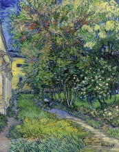 van Gogh, Il giardino del manicomio di Saint Rémy | De tuin van de inrichting in Saint-Rémy | Le jardin de l'asile à Saint-Rémy | The garden of the asylum at Saint-Rémy