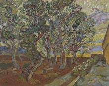 van Gogh, Il giardino del manicomio | De tuin van de inrichting | Le jardin de l'asile | Garden of the asylum