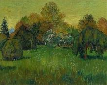 van Gogh, Il giardino del poeta | Le jardin du poète | The poet's garden