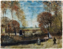 van Gogh, Il giardino della canonica a Nuenen   De tuin van de pastorie te Nuenen   Le jardin du presbytère de Nuenen   The garden of the parsonage in Nuenen