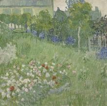 van Gogh, Il giardino di Daubigny   De tuin van Daubigny   Le jardin de Daubigny   Daubigny's garden