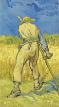 van Gogh, Il mietitore (da Millet) | De maaier (naar Millet) | Le moissonneur (d'après Millet) | The reaper (after Millet)