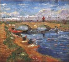 van Gogh, Il ponte Gleize sul canale Vigueirat | The Gleize Bridge over the Vigueirat Canal