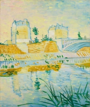 van Gogh, Il ponte di Clichy | Pont de Clichy