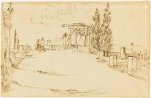 van Gogh, Il ponte di Langlois | Le pont de Langlois | Die Brücke von Langlois | The bridge of Langlois