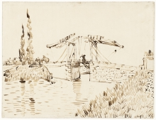 van Gogh, Il ponte di Langlois   Le pont de Langlois   The Langlois bridge