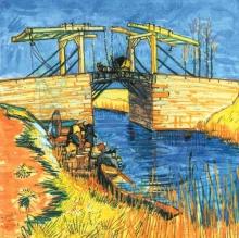 van Gogh, Il ponte di Langlois ad Arles | Le pont de Langlois à Arles | The Langlois bridge in Arles
