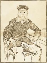 van Gogh, Il postino Joseph Roulin | Le facteur Joseph Roulin | Der Briefträger Joseph Roulin | The postman Joseph Roulin