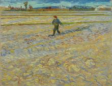 van Gogh, Il seminatore | Le semeur | The sower