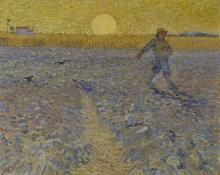 van Gogh, Il seminatore | De zaaier | Le semeur | The sower