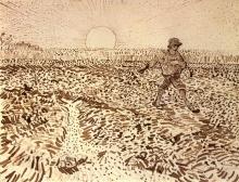 Van Gogh, Il seminatore   De zaaier   Le semeur   The sower