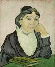 van Gogh, L'Arlesiana (Ritratto di Madame Ginoux) | L'Arlésienne (Portrait de Madame Ginoux) | L'Arlésienne (Portrait of Madame Ginoux)