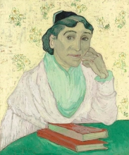 van Gogh, L'Arlesiana, Madame Ginoux | L'Arlésienne, Madame Ginoux | The Arlesian, Madame Ginoux