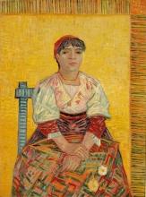 van Gogh, L'italiana | L'Italienne | The Italian woman