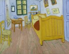 van Gogh, La camera da letto | De slaapkamer | La chambre à coucher | The bedroom