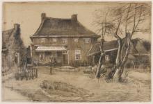 van Gogh, La canonica di Nuenen | De pastorie te Nuenen | Le presbytère à Nuenen | The vicarage at Nuenen