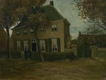 van Gogh, La canonica di Nuenen   De pastorie te Nuenen   Le presbytère à Nuenen   The vicarage at Nuenen