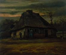 van Gogh, La capanna | De hut | La hutte | The hut