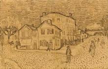 van Gogh, La casa di Vincent ad Arles | La maison de Vincent à Arles | The Vincent's home in Arles